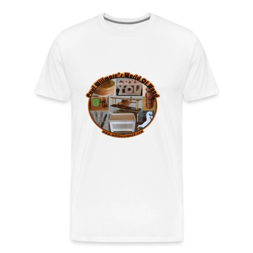 Large logo new - Men's Premium T-Shirt