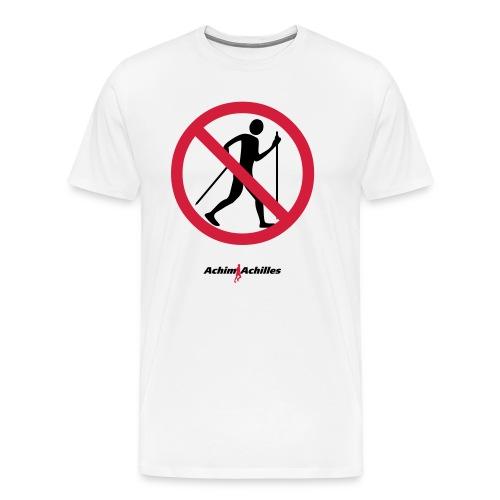 Achim Achilles - No Walker T-Shirt - Männer Premium T-Shirt