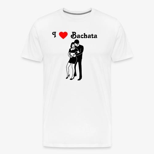 I love Bachata - Männer Premium T-Shirt