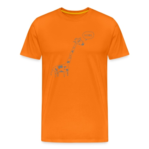 Naughty Giraffe - Men's Premium T-Shirt