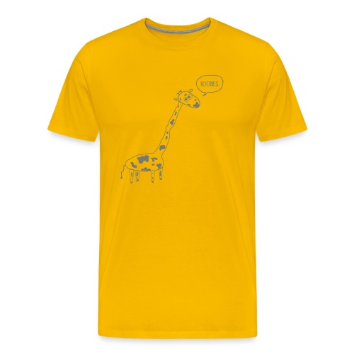 Naughty Giraffe - Men's Premium T-Shirt