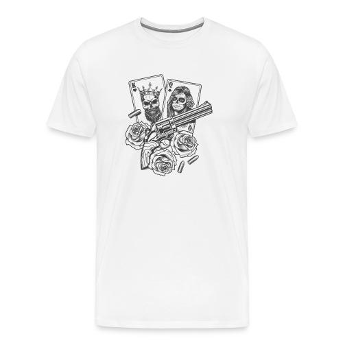 King n Queen - Mannen Premium T-shirt
