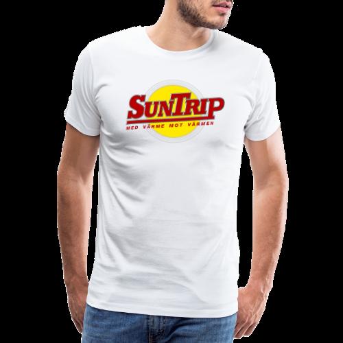 SunTrip originalet - Premium-T-shirt herr