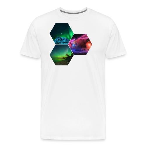 Aurora - Maglietta Premium da uomo