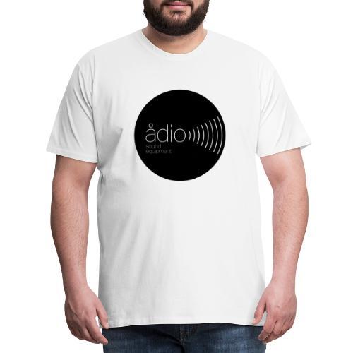 Ådio Svart - Premium-T-shirt herr