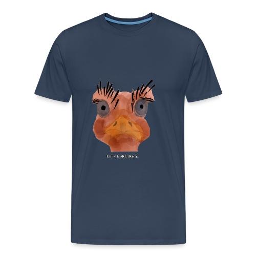 Srauss, again Monday, English writing - Men's Premium T-Shirt