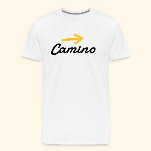 Camino, Follow the way - Camiseta premium hombre