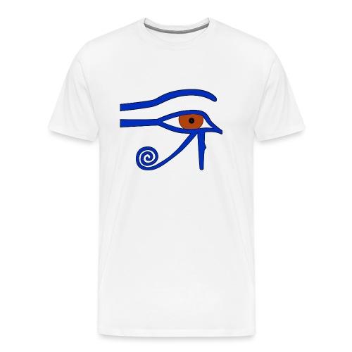 Ägyptisches Udjatauge - Männer Premium T-Shirt