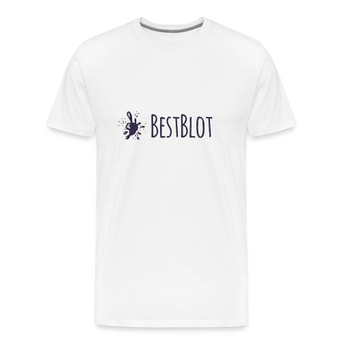 BestBlot logo (medium) - Men's Premium T-Shirt