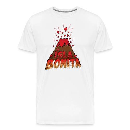 Volcán Isla bonita, Islas Canarias - Camiseta premium hombre