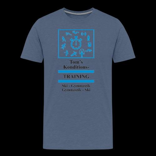 Skigymnastik - Männer Premium T-Shirt