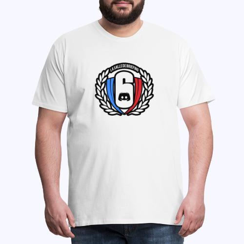 Logo LaSalleDeBriefing Contouré - T-shirt Premium Homme