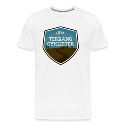 Luleå Terrängcyklister - Premium-T-shirt herr