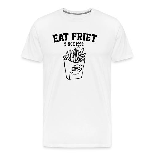 Eat Friet - Mannen Premium T-shirt