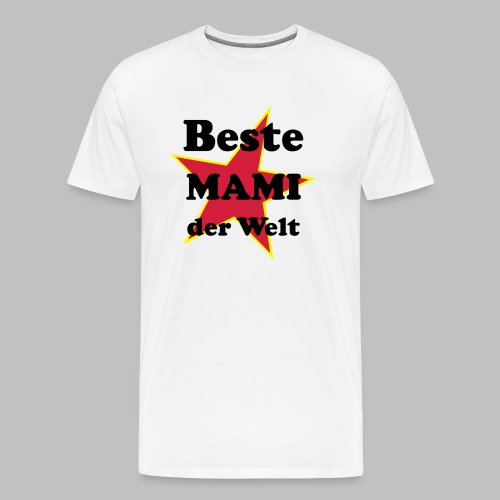 Beste MAMI der Welt - Mit Stern - Männer Premium T-Shirt