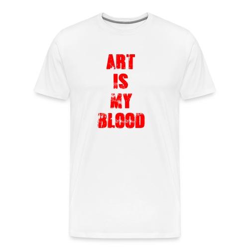 Art is my Blood - Männer Premium T-Shirt