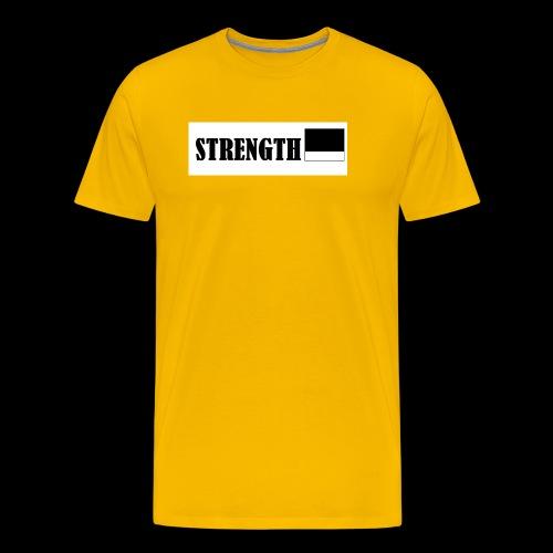 STRENGTH - Miesten premium t-paita