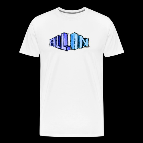 All In scribble - Men's Premium T-Shirt