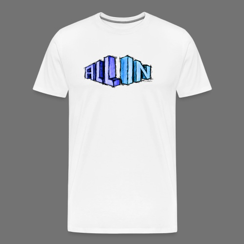 All In scribble - Männer Premium T-Shirt