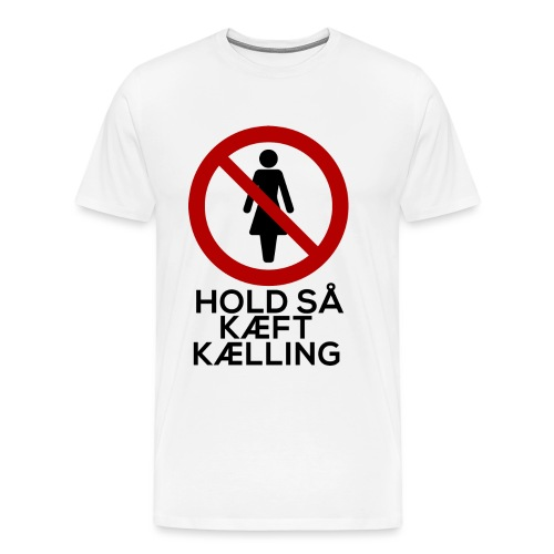 kæftkælling png - Herre premium T-shirt