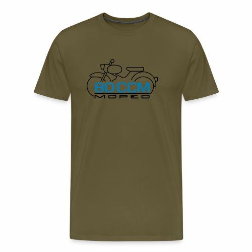 Moped sparrow 80 cc emblem - Men's Premium T-Shirt