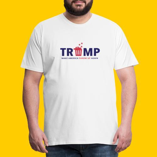Trump trash - Premium-T-shirt herr