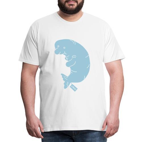 Sand/charcoal Seekuh - Riesenseekuh Langarmshirts - Männer Premium T-Shirt