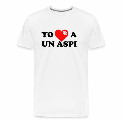 Yo amo a un Aspi - Camiseta premium hombre