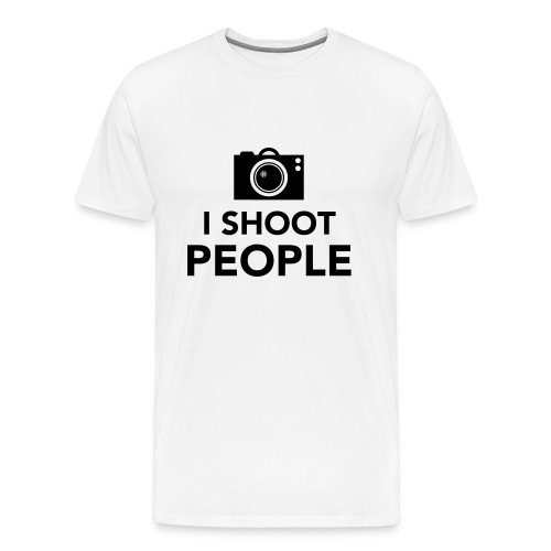 i-shoot-people - Mannen Premium T-shirt