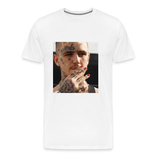 LIL PEEP X SIGARIA - RAEVERSE - Mannen Premium T-shirt