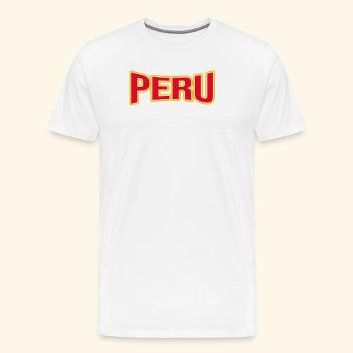 Peru - Fanartikel - Sportfans T-shirt - Männer Premium T-Shirt