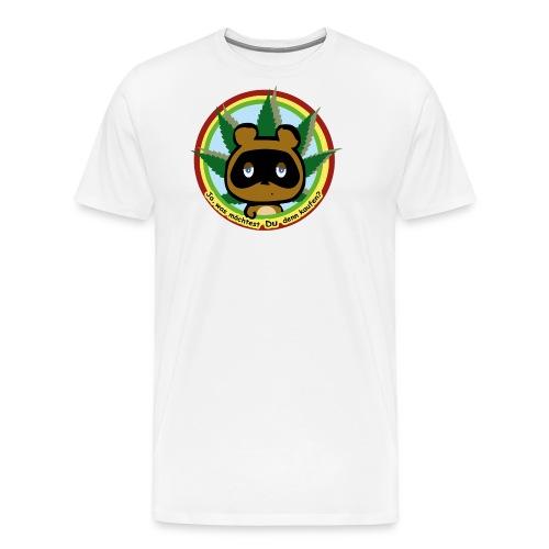Funny Tom Bär - Männer Premium T-Shirt
