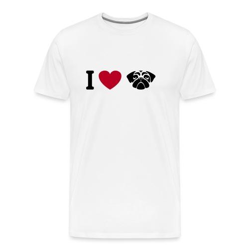 I love mops - Männer Premium T-Shirt