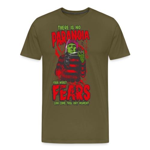There is no paranoia - Premium T-skjorte for menn