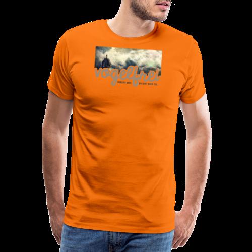 geweihbär Vogelfrei 3 - Männer Premium T-Shirt
