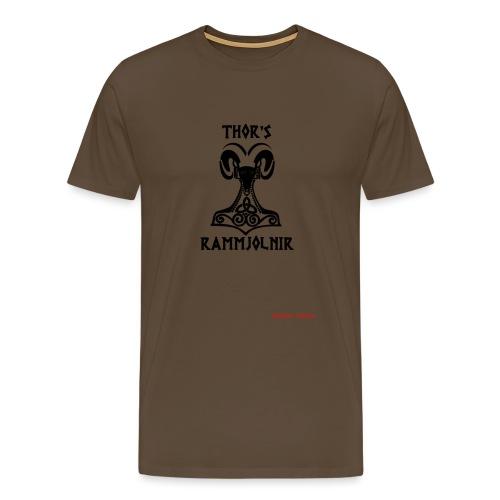 THOR's-RAMMjolnir - T-shirt Premium Homme