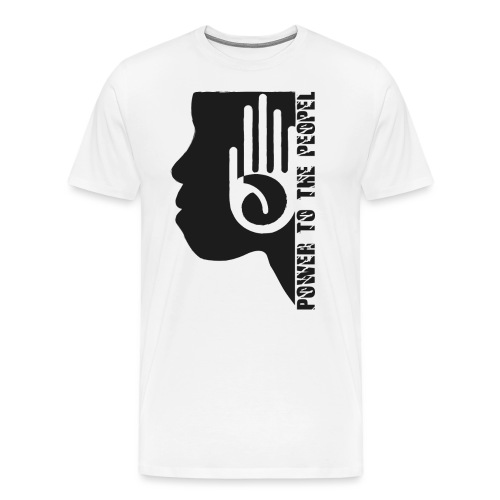 Retro Design Power to the People - Männer Premium T-Shirt