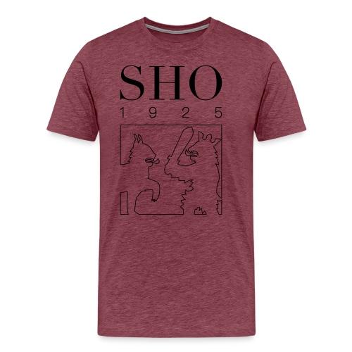 SHO 1925 - Miesten premium t-paita