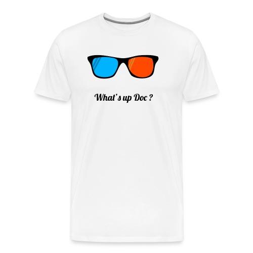 lunettes png - T-shirt Premium Homme