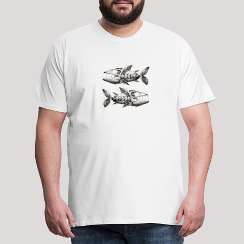 FishEtching - Men's Premium T-Shirt