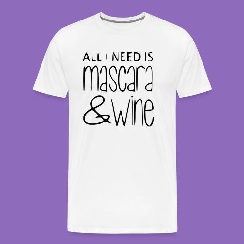 mascarawine - Männer Premium T-Shirt