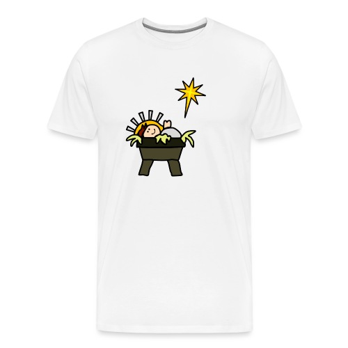 Cute Baby Jesus Christmas - Men's Premium T-Shirt