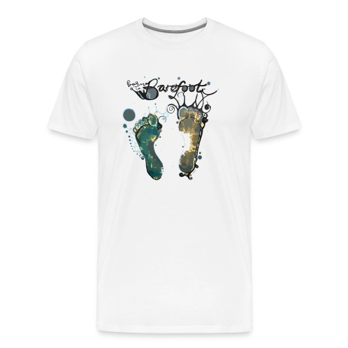 Born To Barefoot - Men's Premium T-Shirt