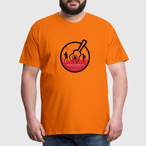 nashville country star - Herre premium T-shirt
