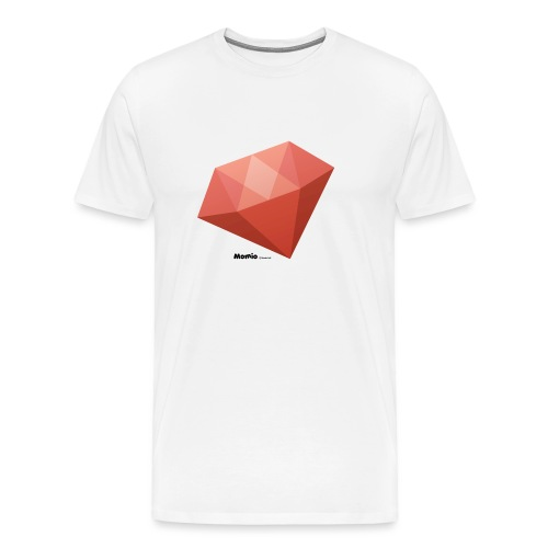 Diamant - Herre premium T-shirt