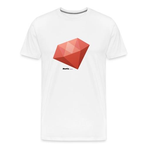 Diamant - Mannen Premium T-shirt