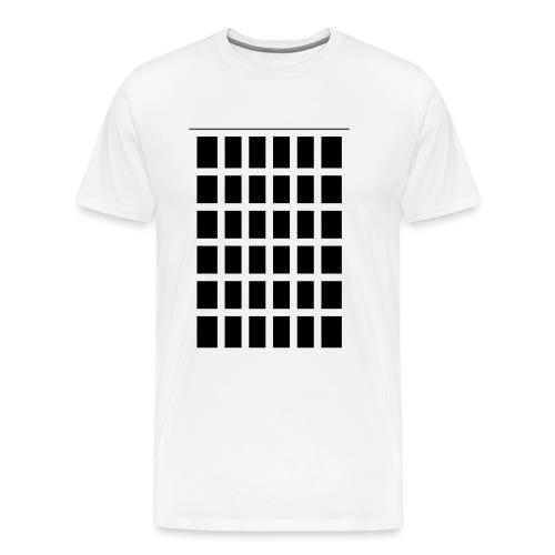 Raster - Männer Premium T-Shirt