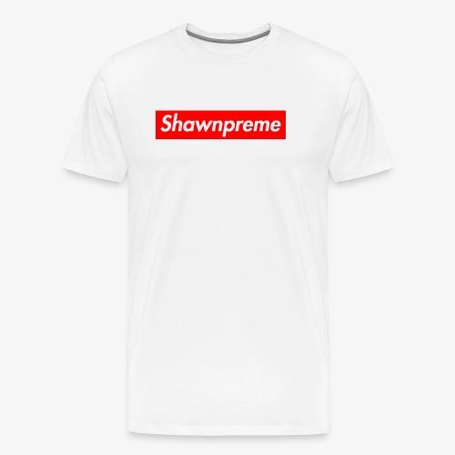Shawnpreme logo - Herre premium T-shirt