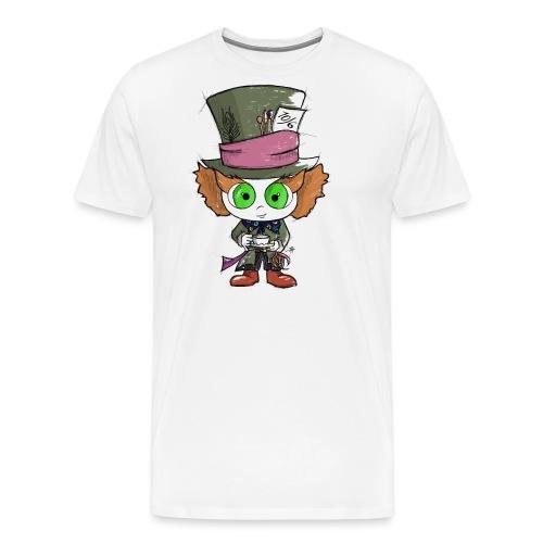 Cappellaiomattoofficial - Maglietta Premium da uomo