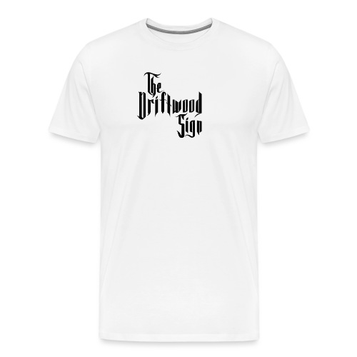 The Driftwood Sign logo - Premium-T-shirt herr